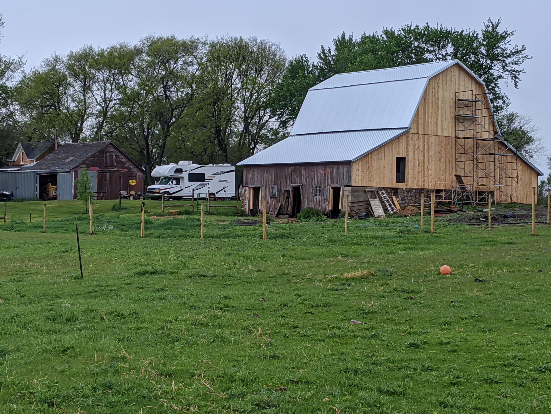 Hipcamp on a homestead. Thor Motor Coach Freedom Elite 2020