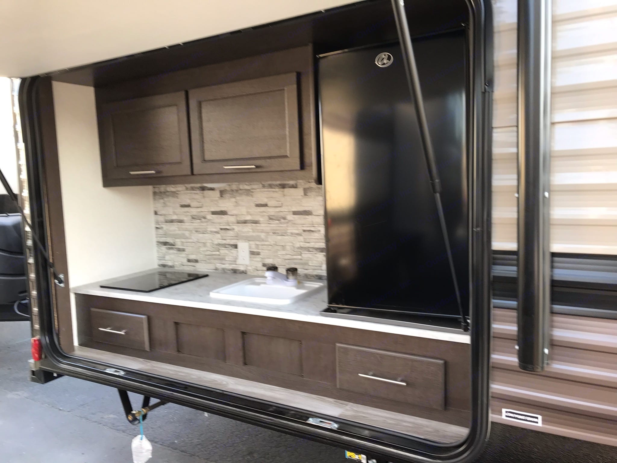 2nd fridge out door kitchen is a plus!. Forest River Wildwood X-Lite 2020