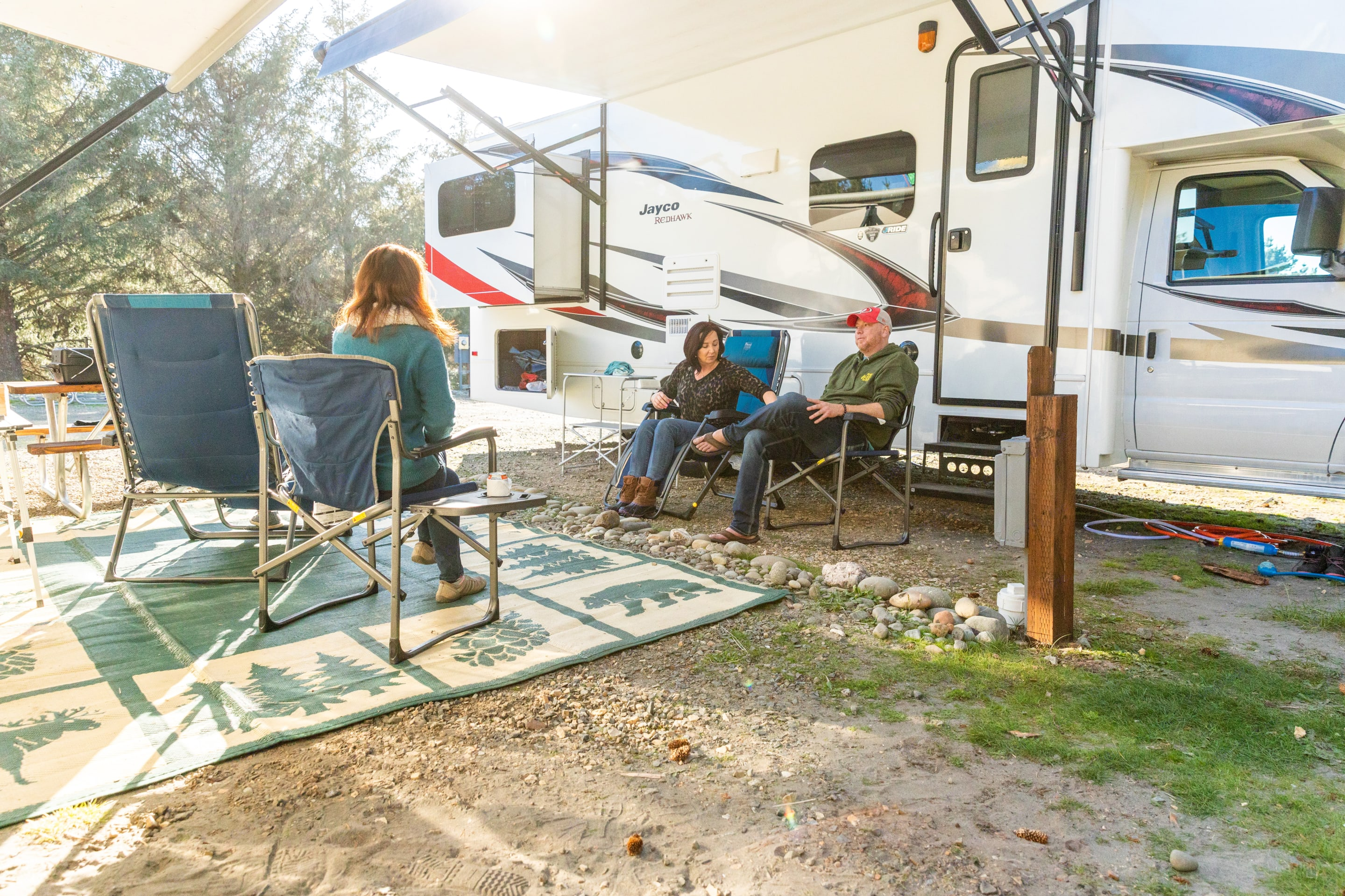 Perfect Size for a Small Family Getaway. Jayco Redhawk 2018