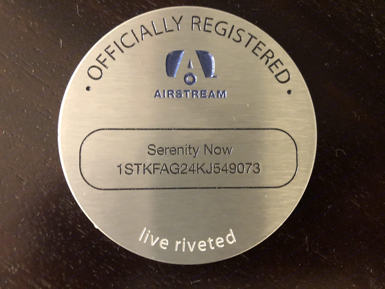 Serenity Now. Airstream International 2019