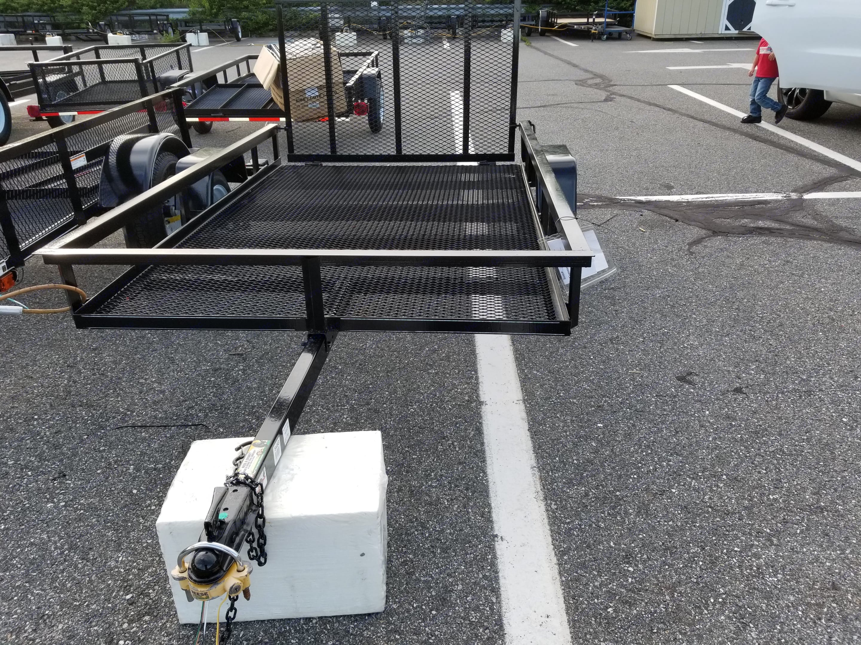Carry-on utility trailer 2019