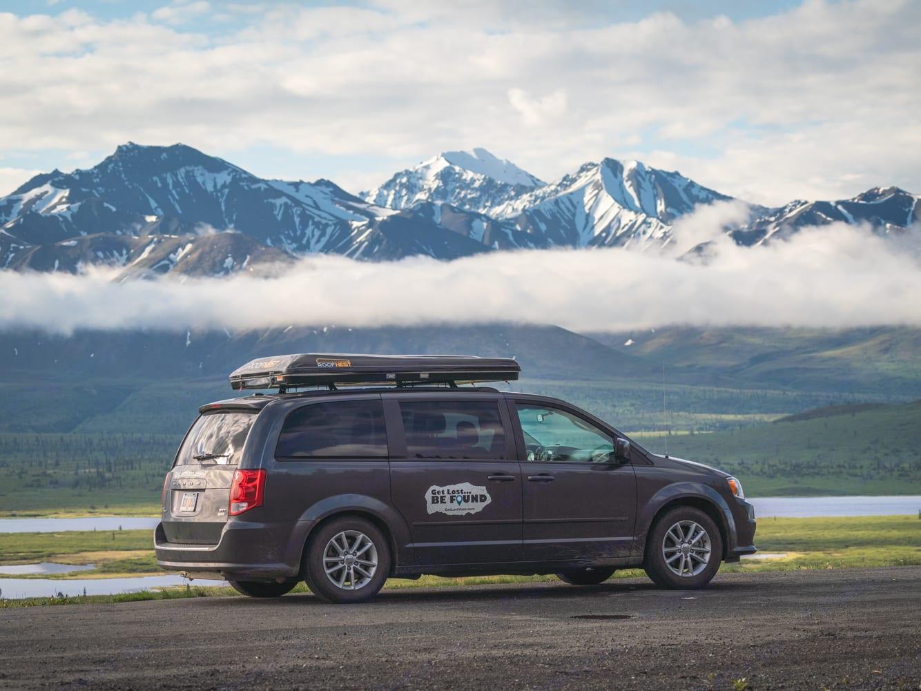Get Lost Travel Van Ready to Drive. Dodge Grand Caravan 2016
