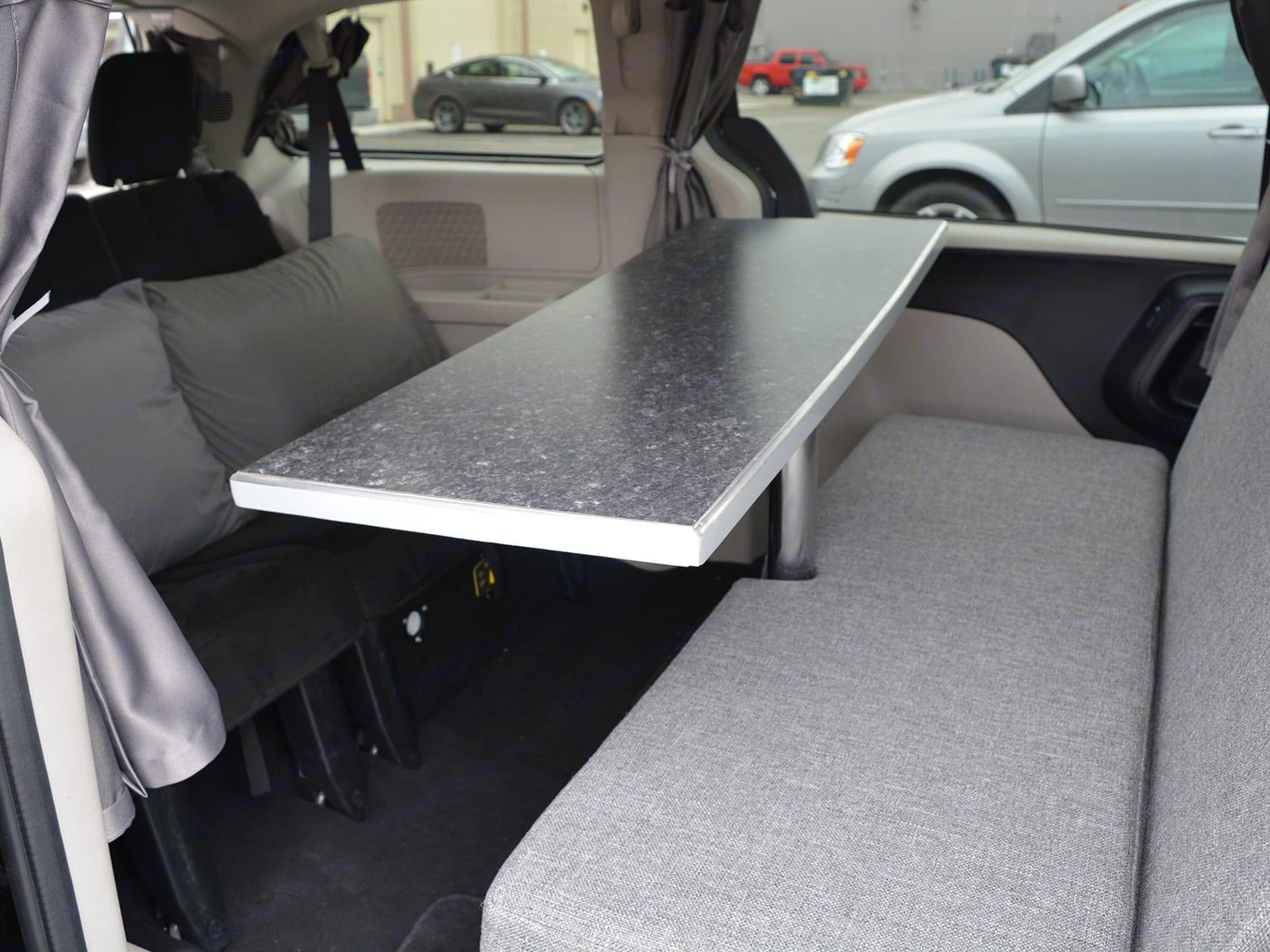 Get Lost Travel Van Interior Table. Dodge Grand Caravan 2016