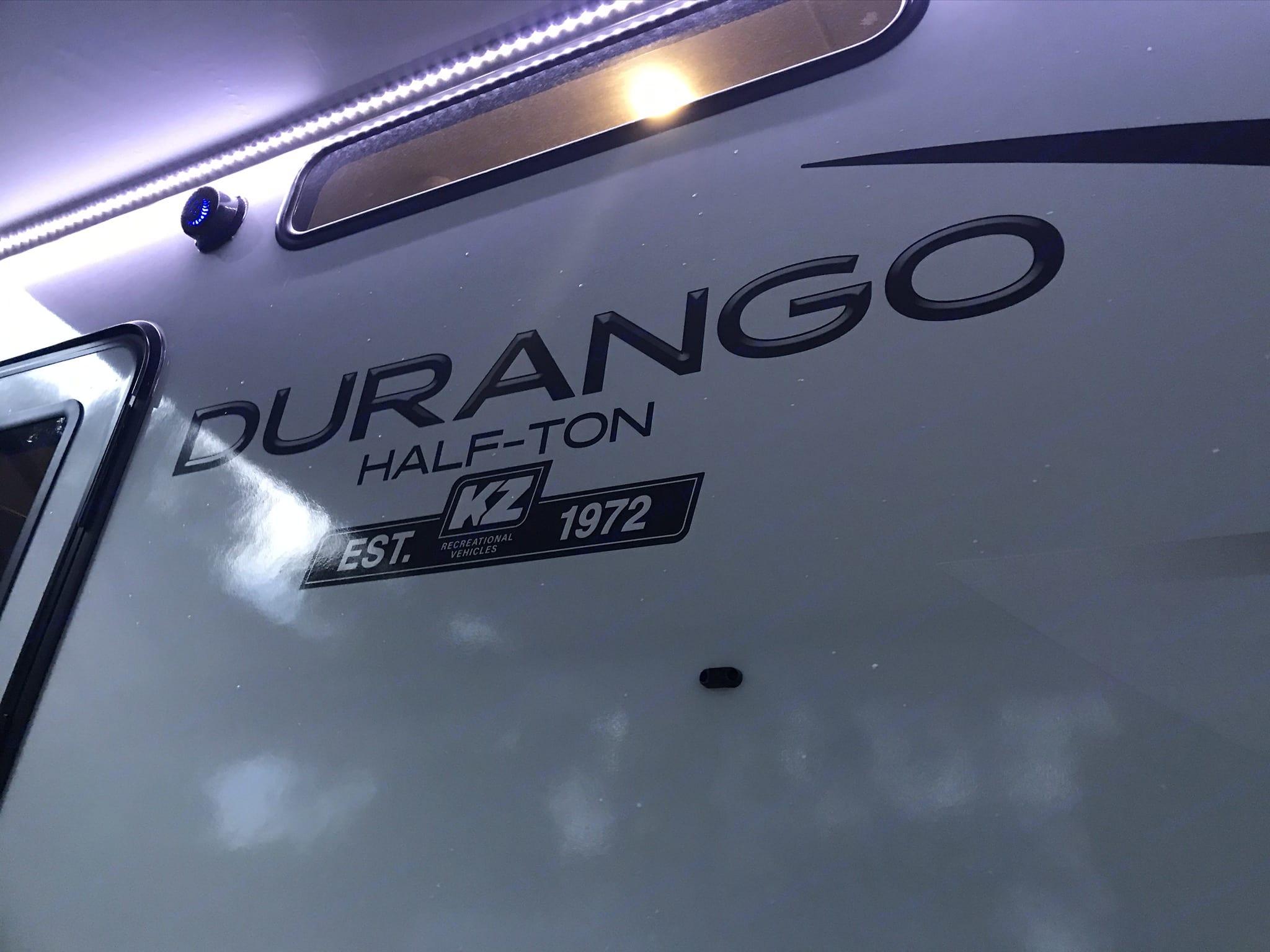 Front. K-Z Manufacturing Durango 2020