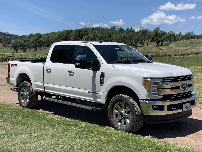 Ford F250 - White 2019