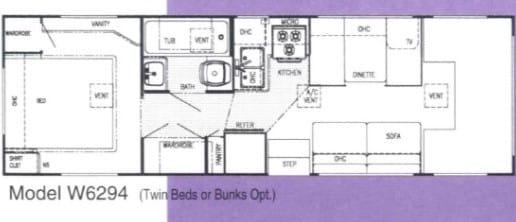 Floor Plan. Gulf Stream Conquest Limited 1998