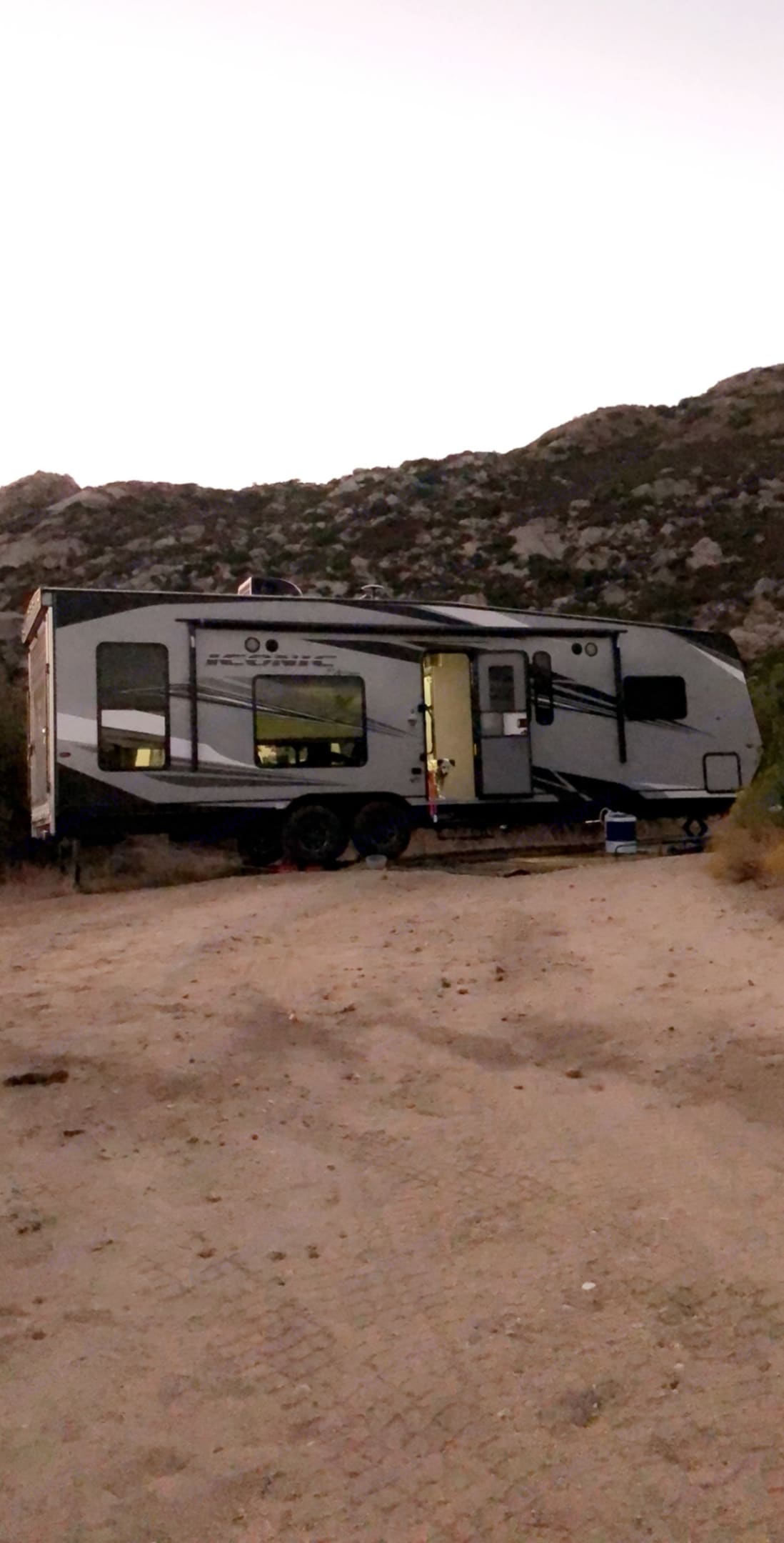 Dry camping at Mt. Laguna. Eclipse Recreational Vehicles Iconic 2020
