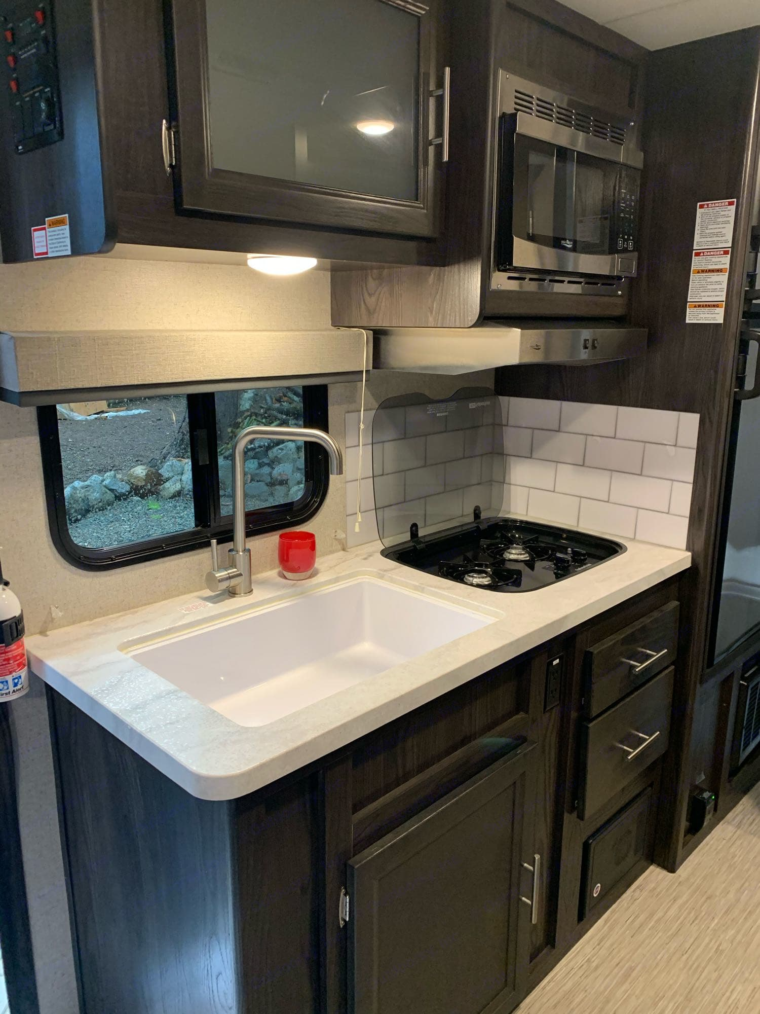 Extra large sink makes clean up easy!. Kodiak Cub 2018
