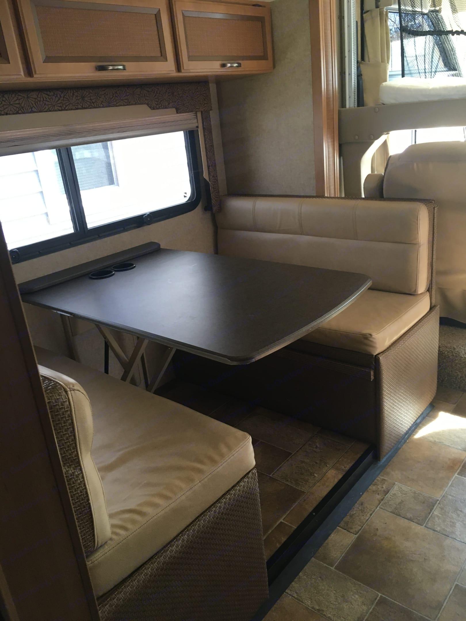 Table for 4!. Thor Motor Coach Vegas 2015