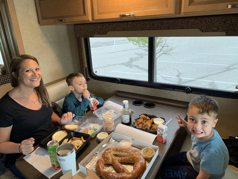 Snack Time!. Thor Motor Coach Vegas 2015