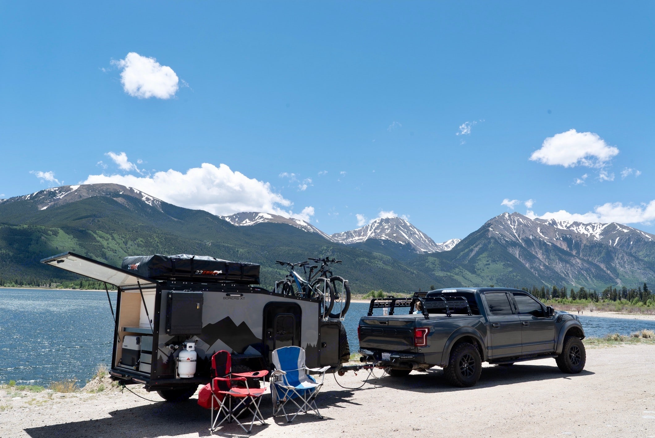Add the Roof Top Tent!. Into the Wild Overland Boreas XT 2019
