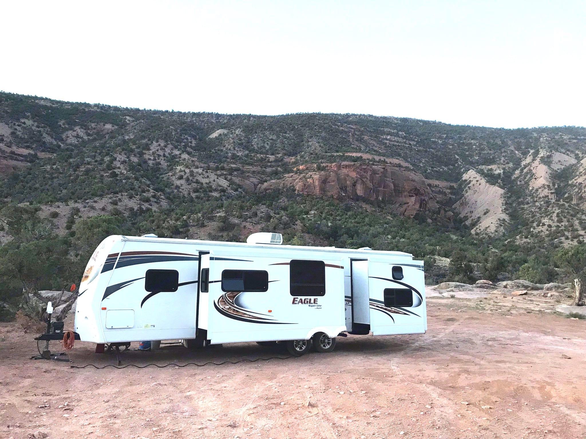 Camping in Colorado!. Jayco Eagle Super Lite 2012