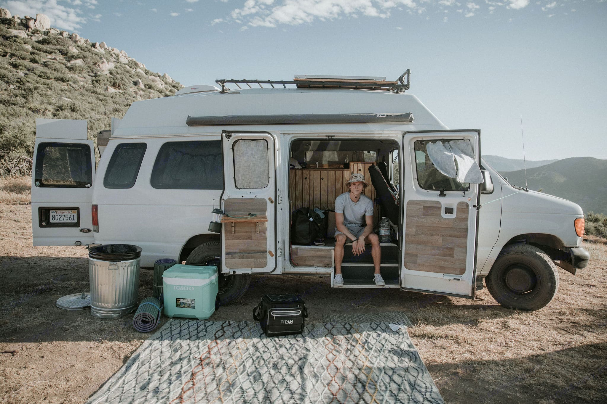 Phat Mobile Adventures packs the latest amenities to support your dream adventures!. Ford E-250 Custom Camper 2006