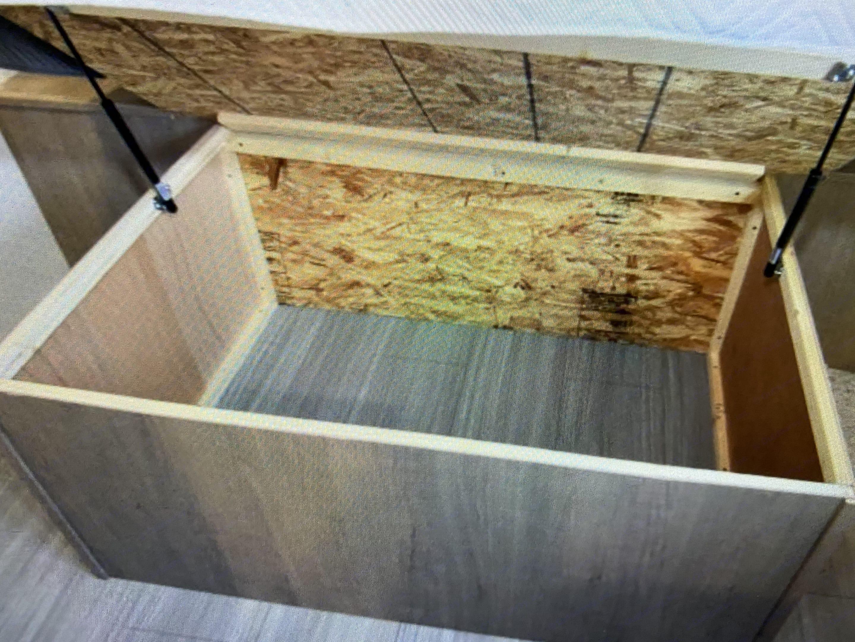 storage under bed. Keystone Hideout 2020