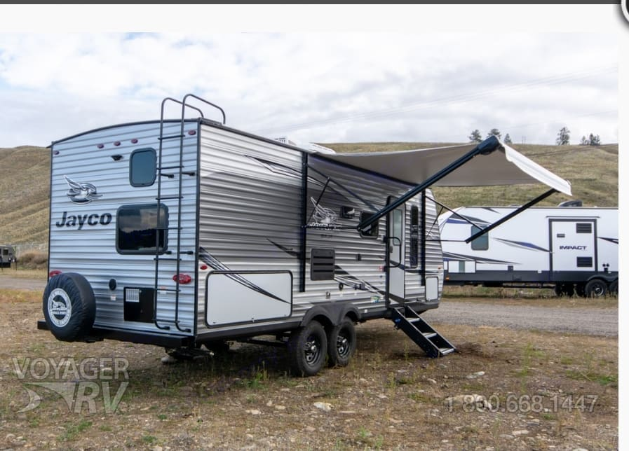 13 foot power awning for all weather camping.. Jayco Jay Flight 2020