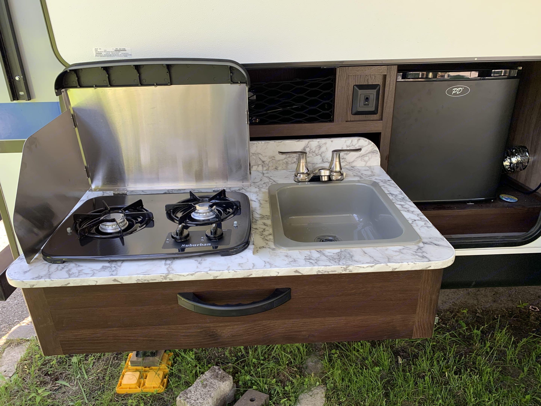 Outdoor Kitchen. Jayco Jay Feather 2018