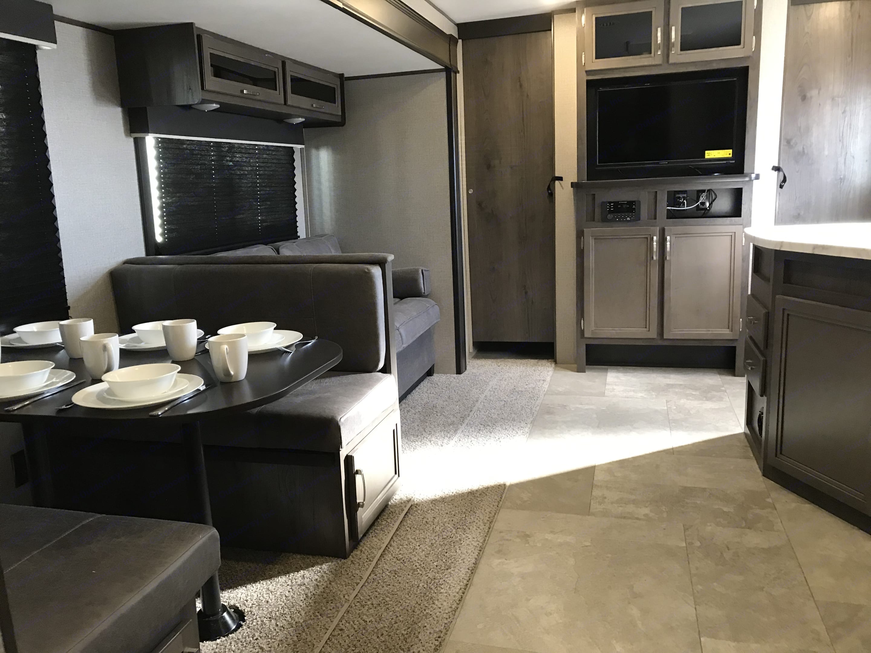A glimpse of the space. Jayco Jay Flight 2020