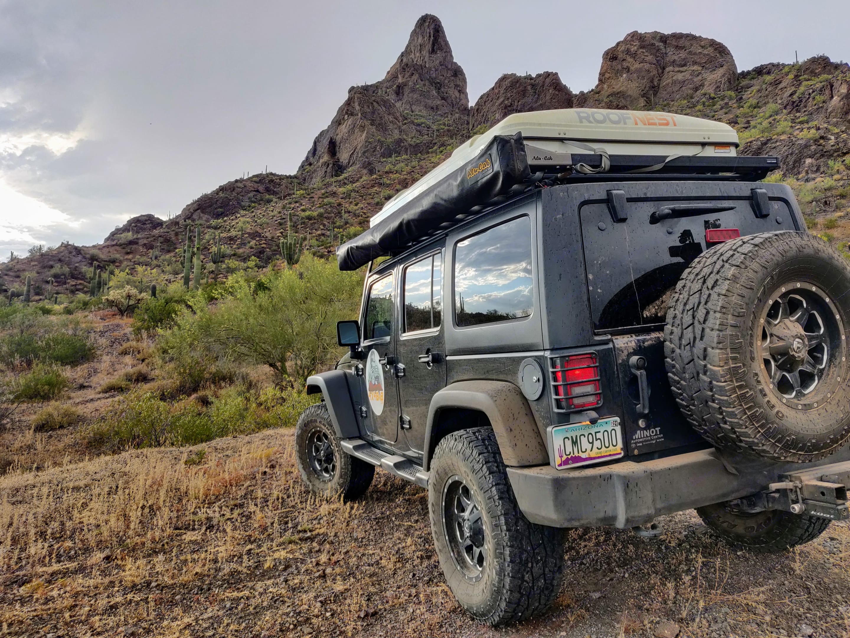 Take your Bed and Breakfast anywhere!. Jeep Wrangler Unlimited 2016