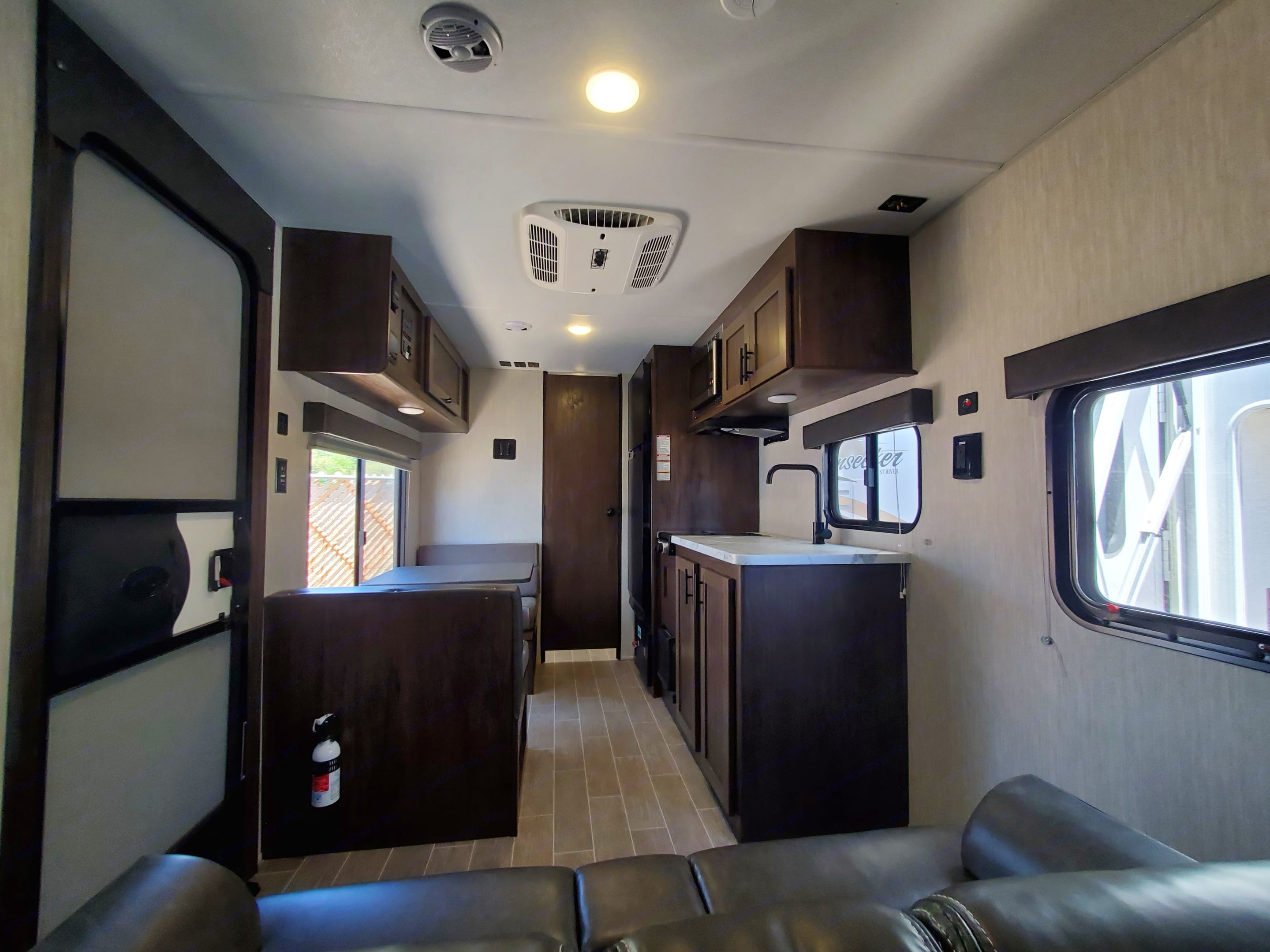 Very spacious and modern interior.. Forest River Wolf Pup 2021