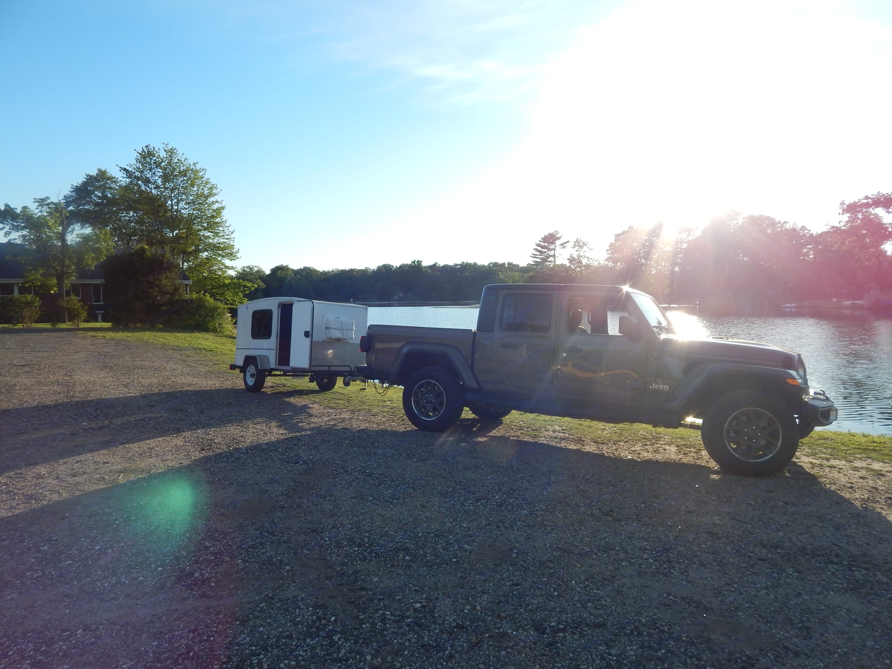 The freedom to have private sunsets.. Runaway Campers Runaway 2014