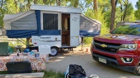 2010 Flagstaff MAC Pop Up Tent Trailer. Flagstaff MAC 176LTD 2010