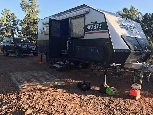 Off the grid camping. Black Series Black Series HQ19 2019