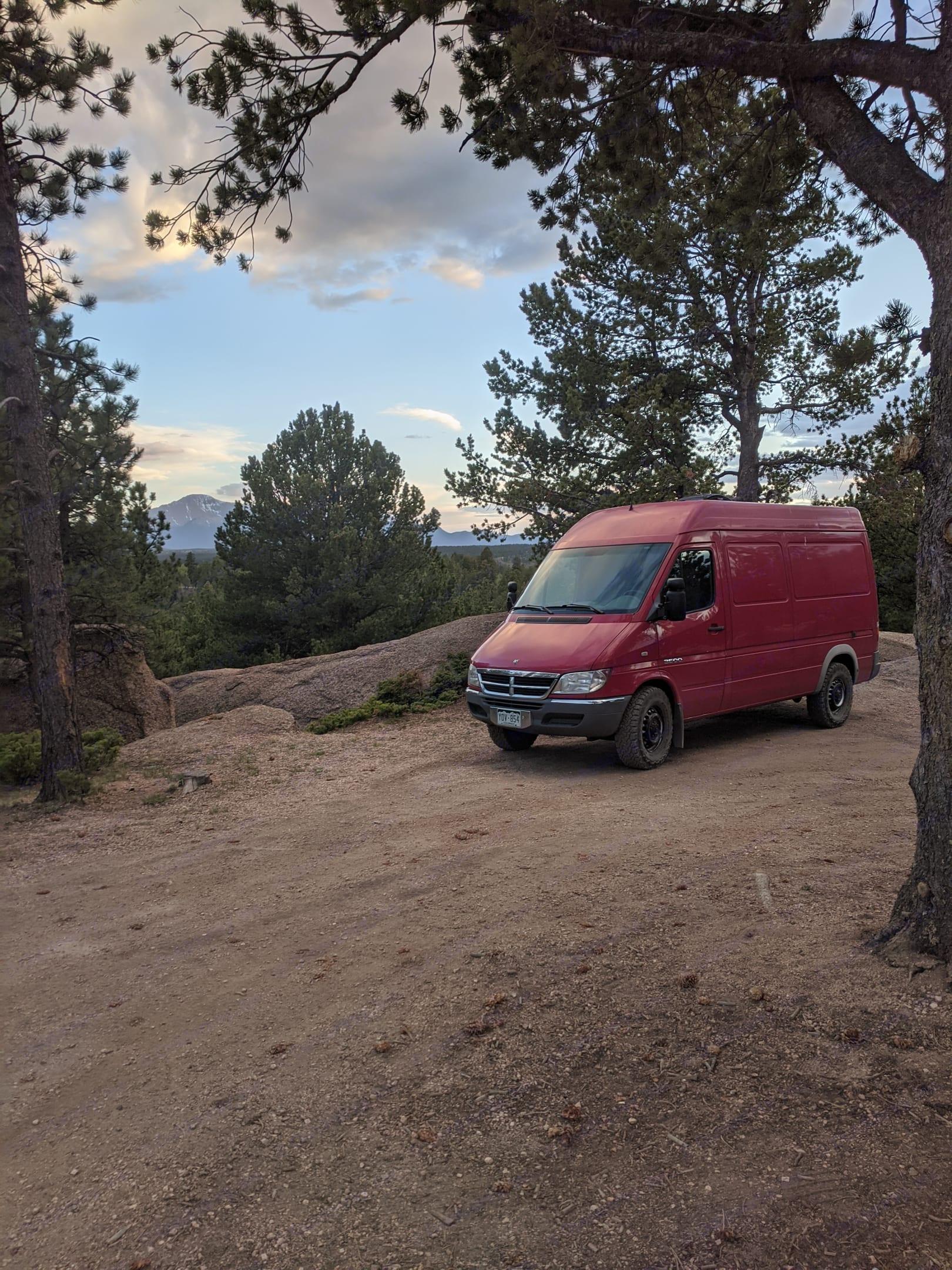 Mount Herman, CO. Dodge Sprinter Van 2004