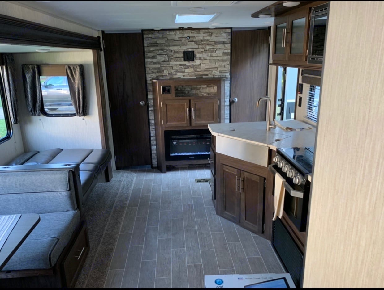 Full living space view.. Forest River Cherokee 2020
