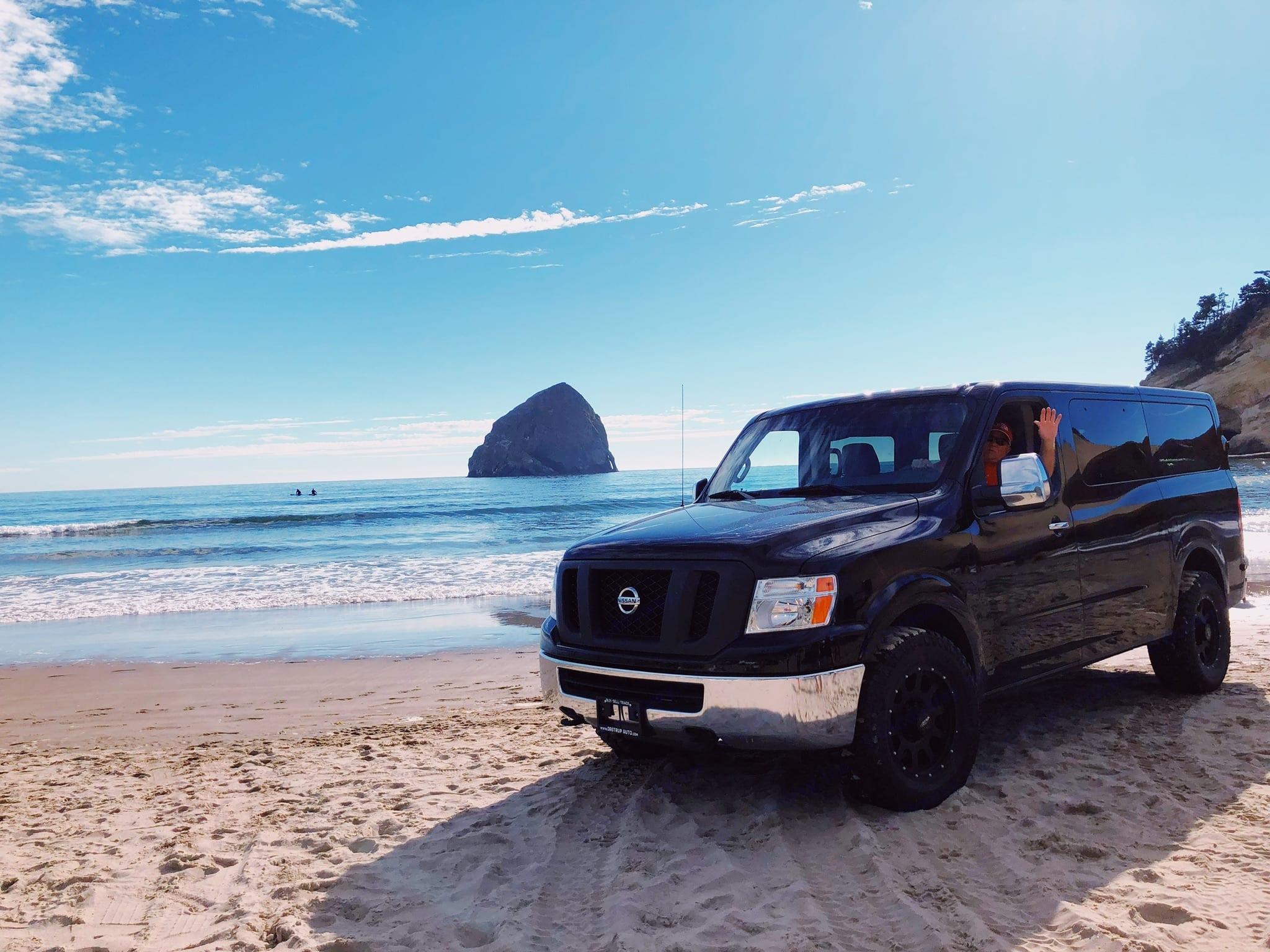 Party Wagon. Nissan NV 2015
