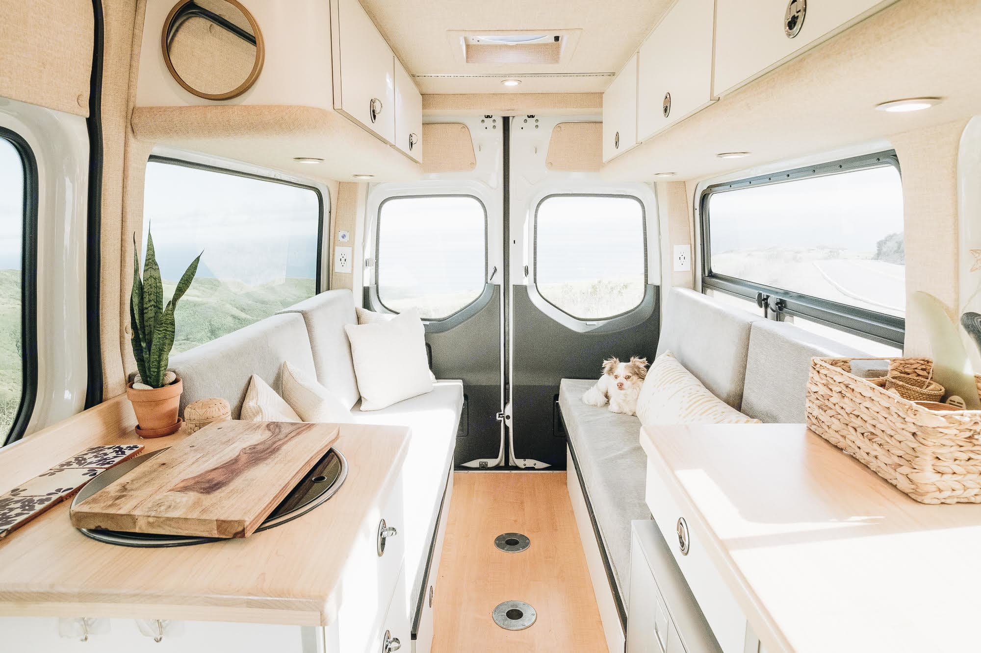 The best view in the house!. Mercedes-Benz Sprinter 2019