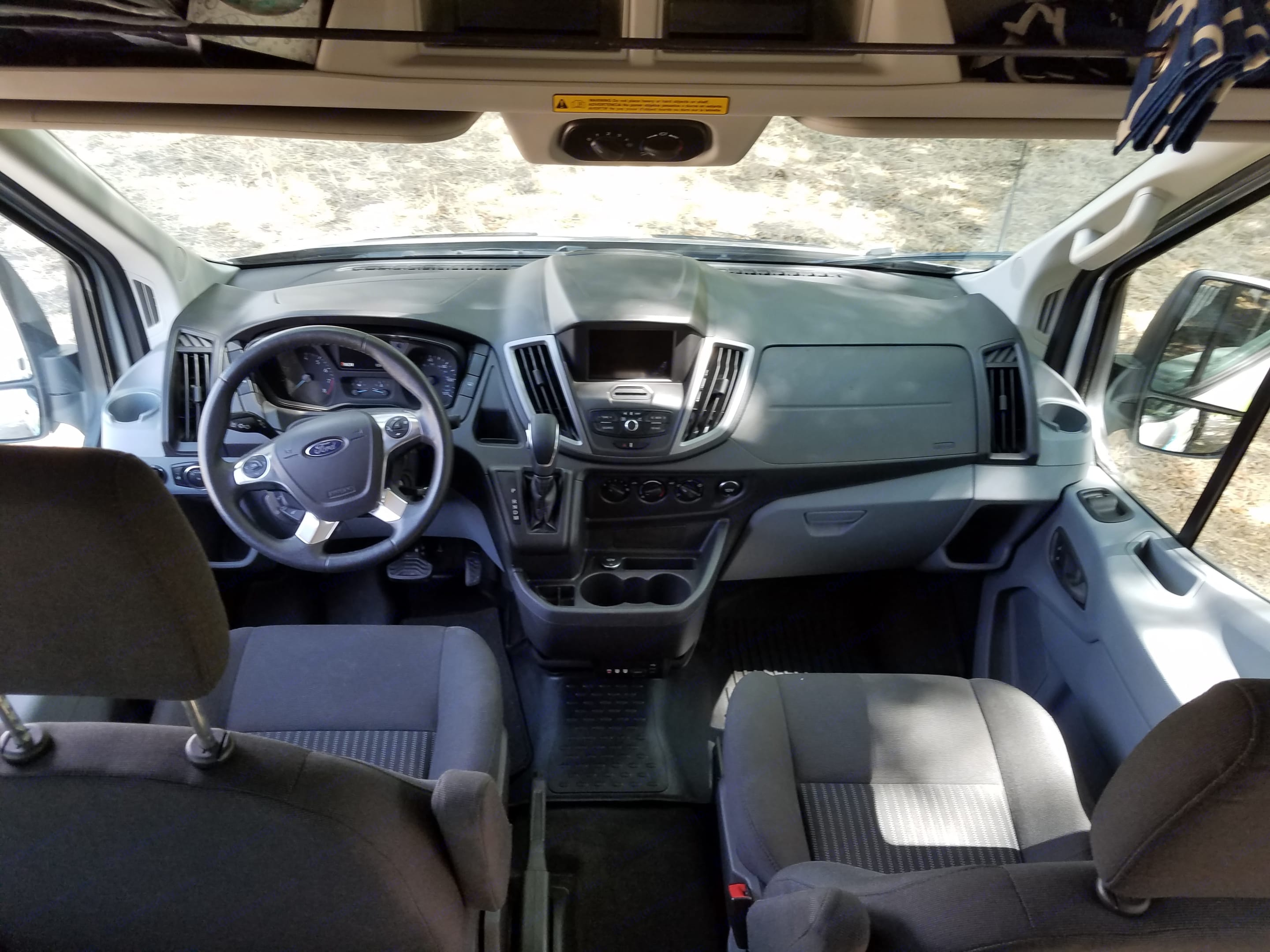Including all modern amenities with back up camera. . Ford Transit 2019