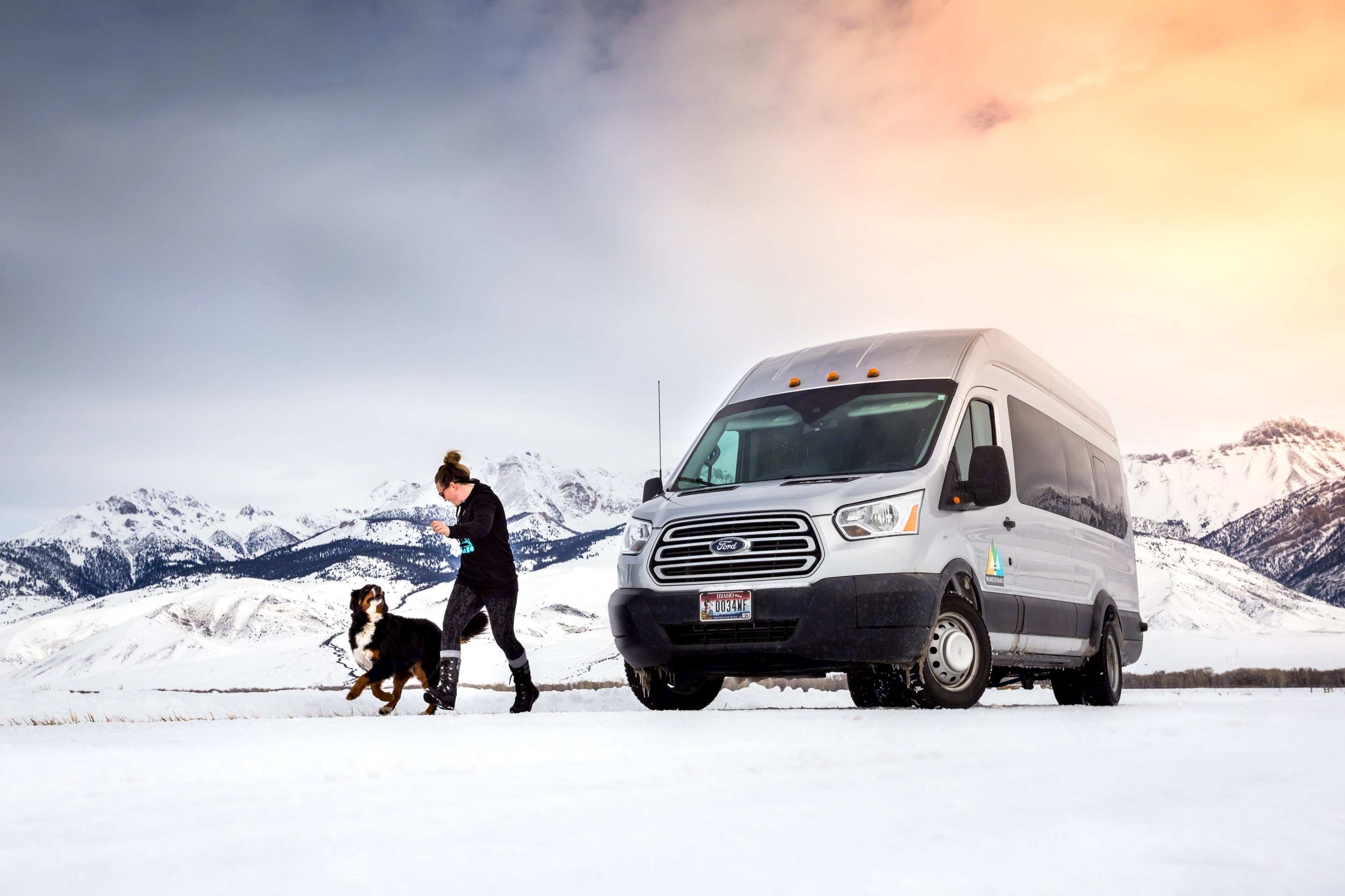 Great for all seasons!. Ford Transit 2019