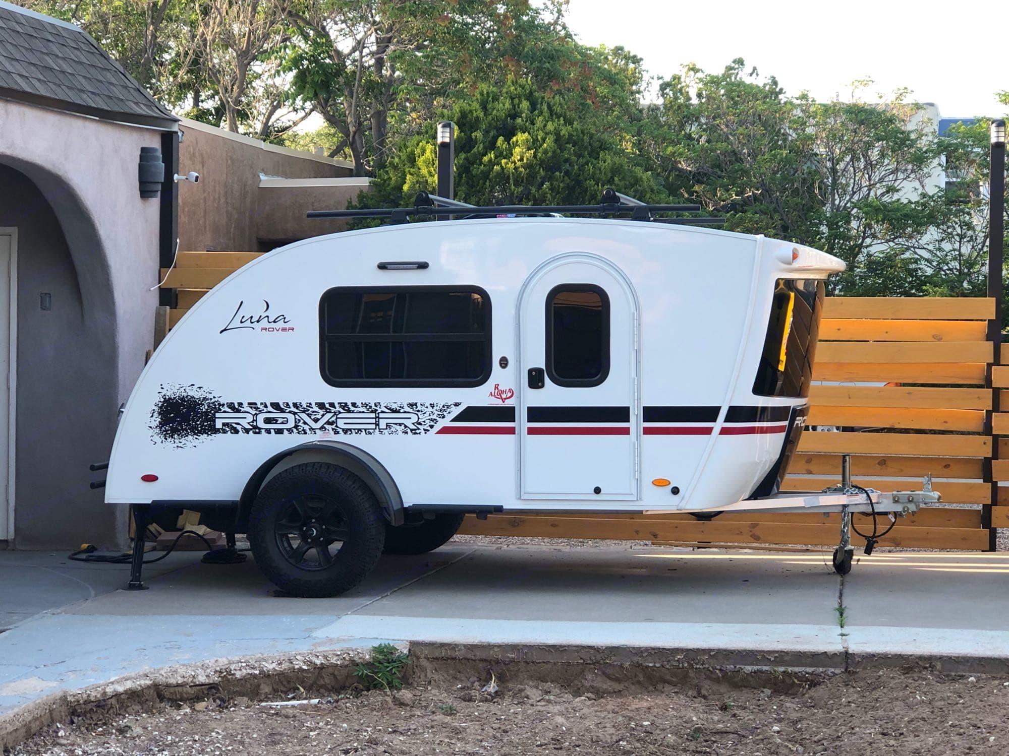 Actual Unit in my driveway. inTech Luna Rover 2020