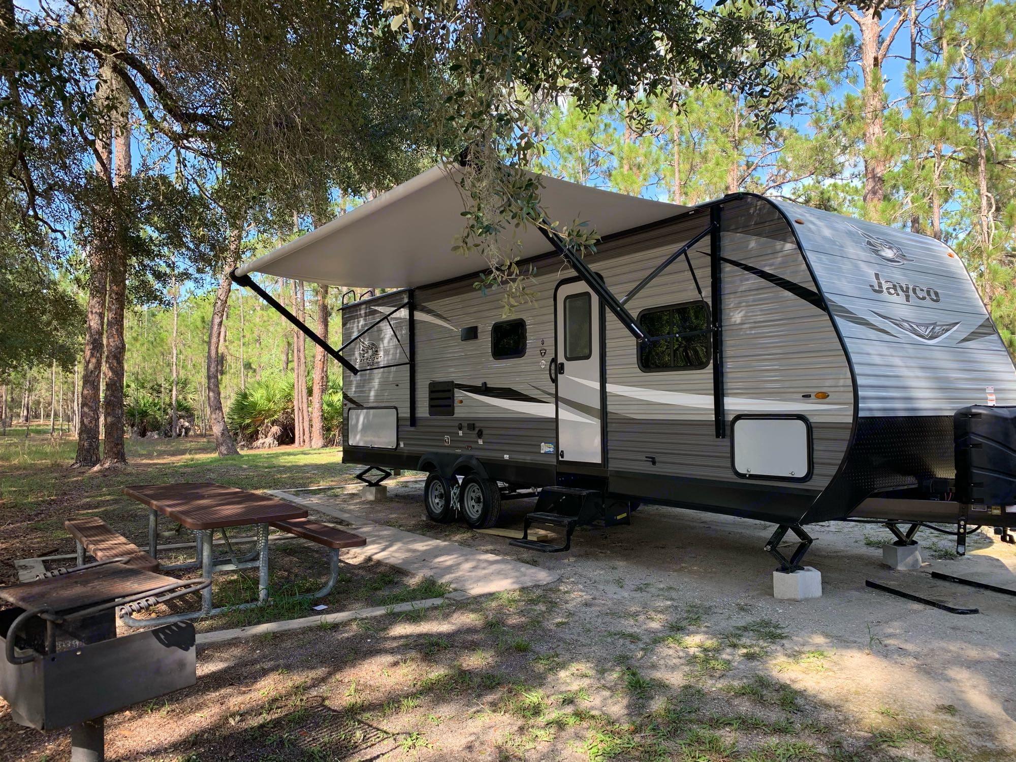 Moss Park Camping Grounds. Jayco JayFlight 2021