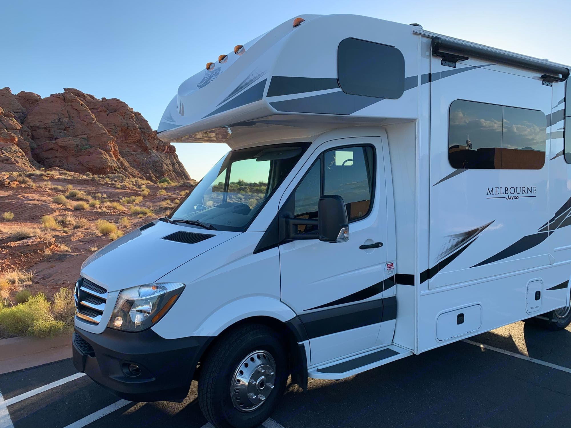 Mercedes-Benz Turbo Diesel. Easy to drive.. Jayco Melbourne 2019