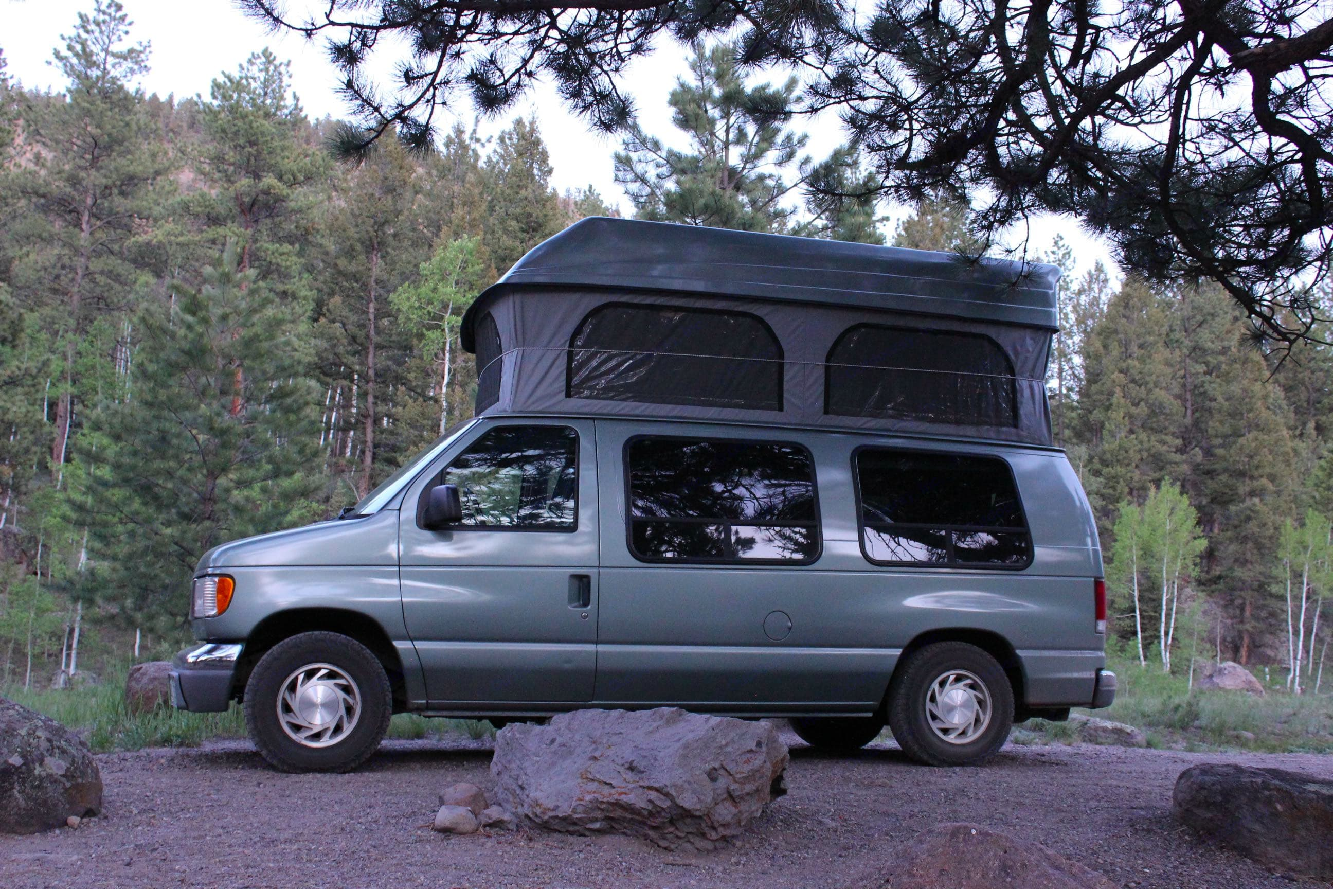 Ford E150 Pop top Colorado Campervan. Ford E 150 Reg Body 2000