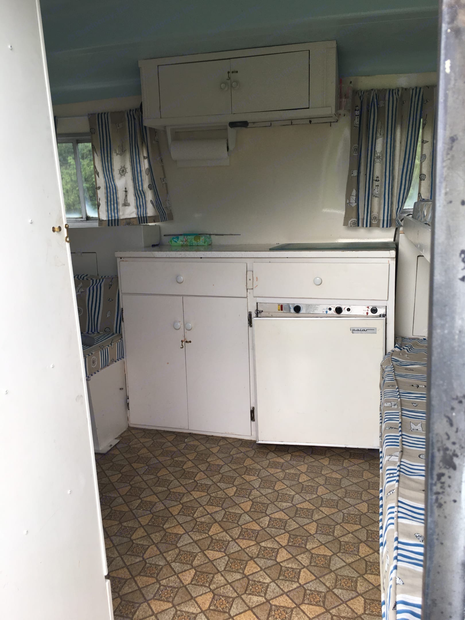 Electric fridge. Boler AerFlo 2140 1972
