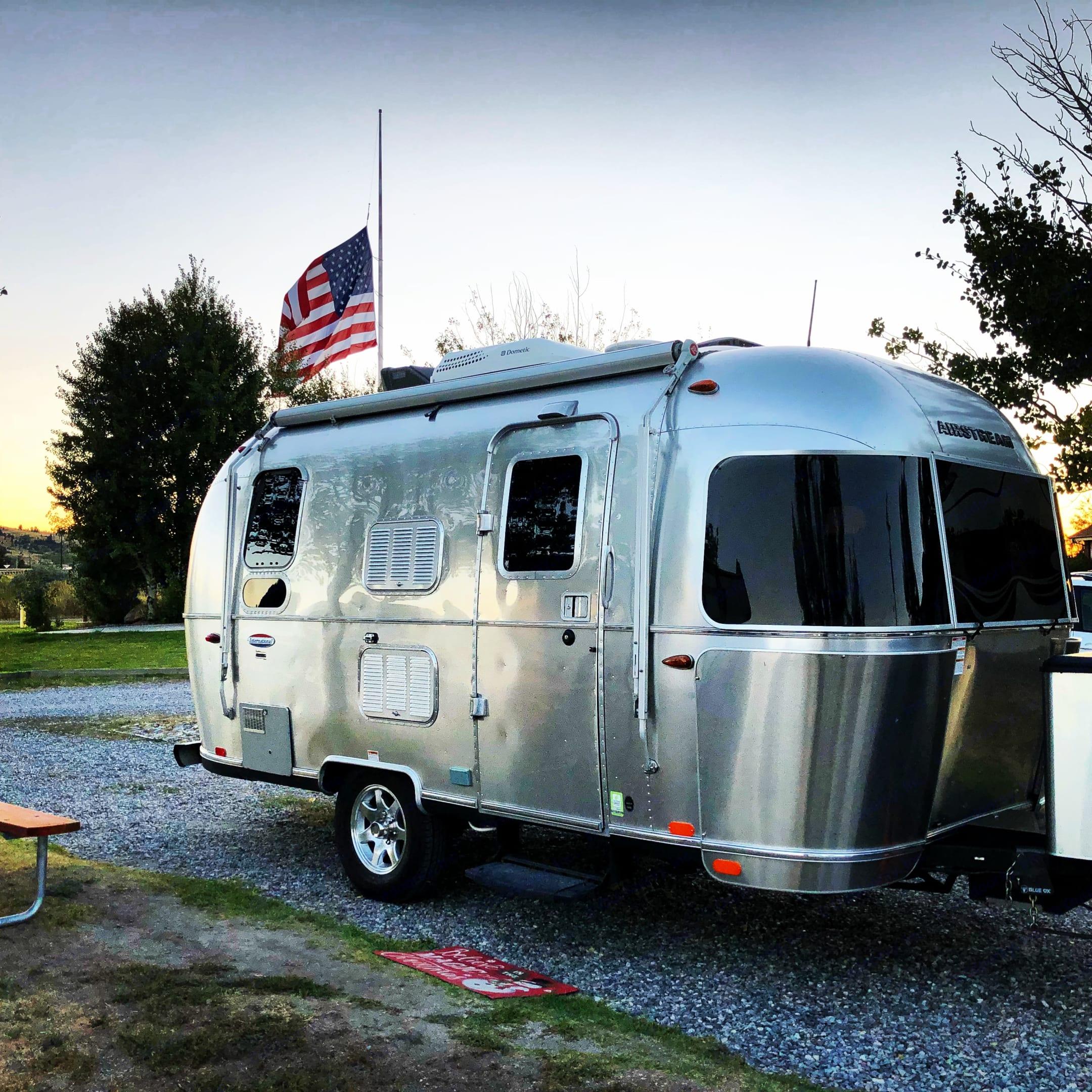 KOA in Butte, Montana. Airstream International 2016