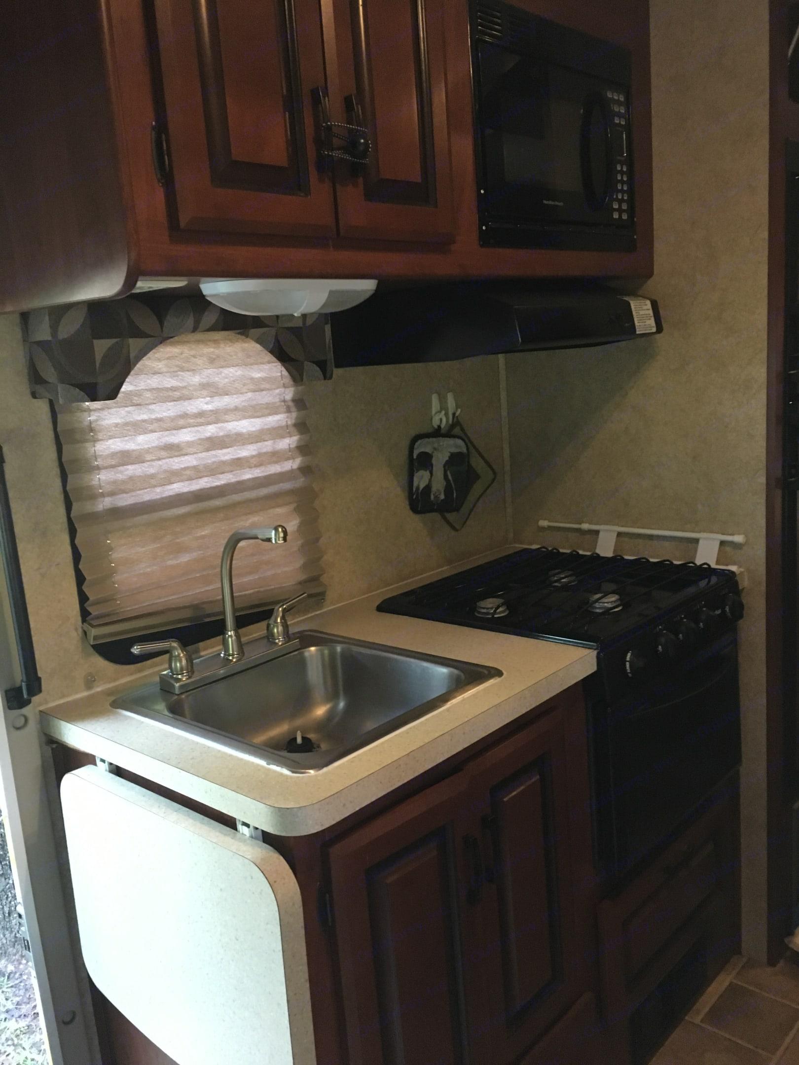 Kitchen. Forest River Solera 2012