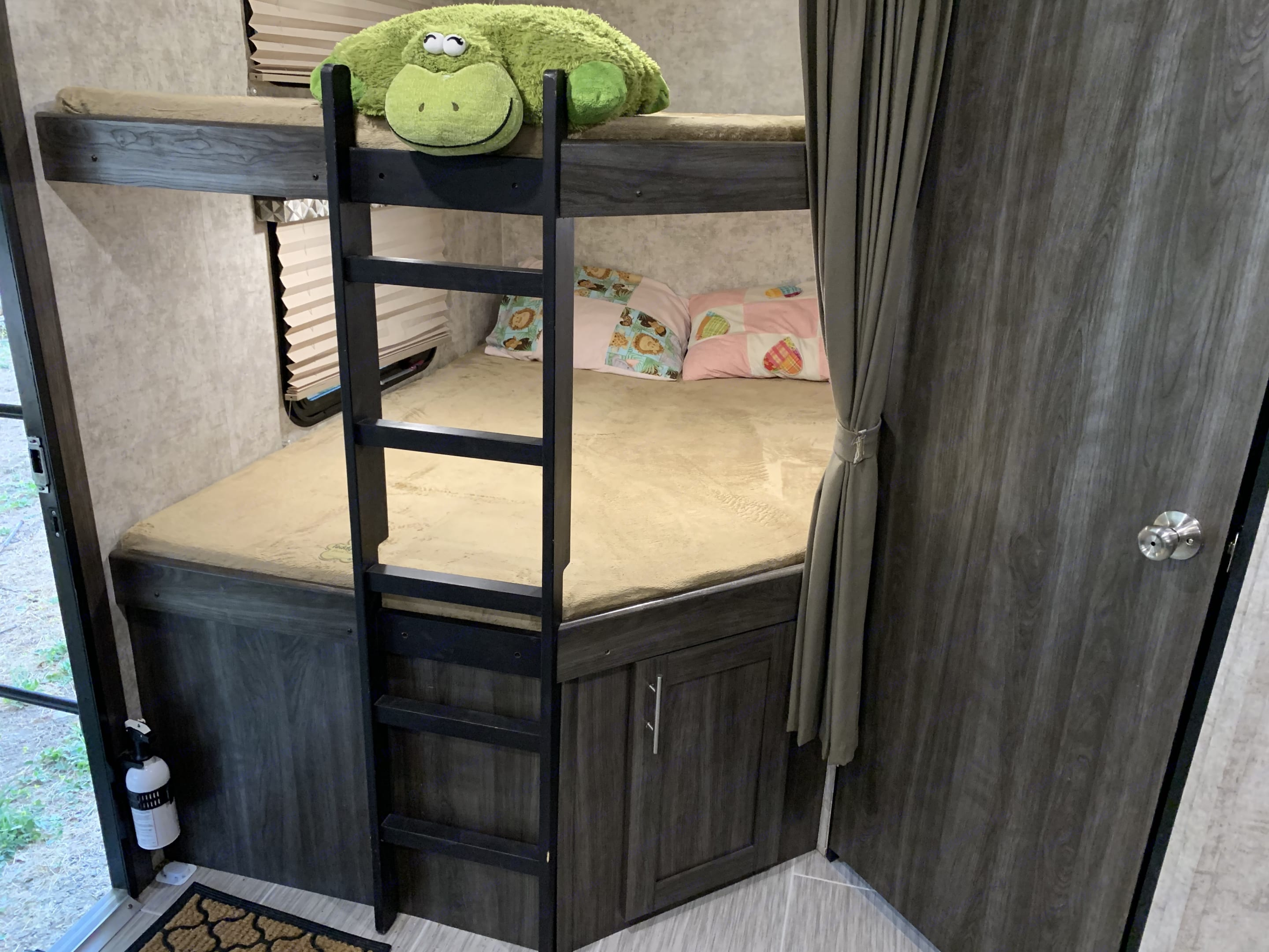 Large Bunks (2) for kids and teens to sleep in their own space.. Open Range Open Range 2018