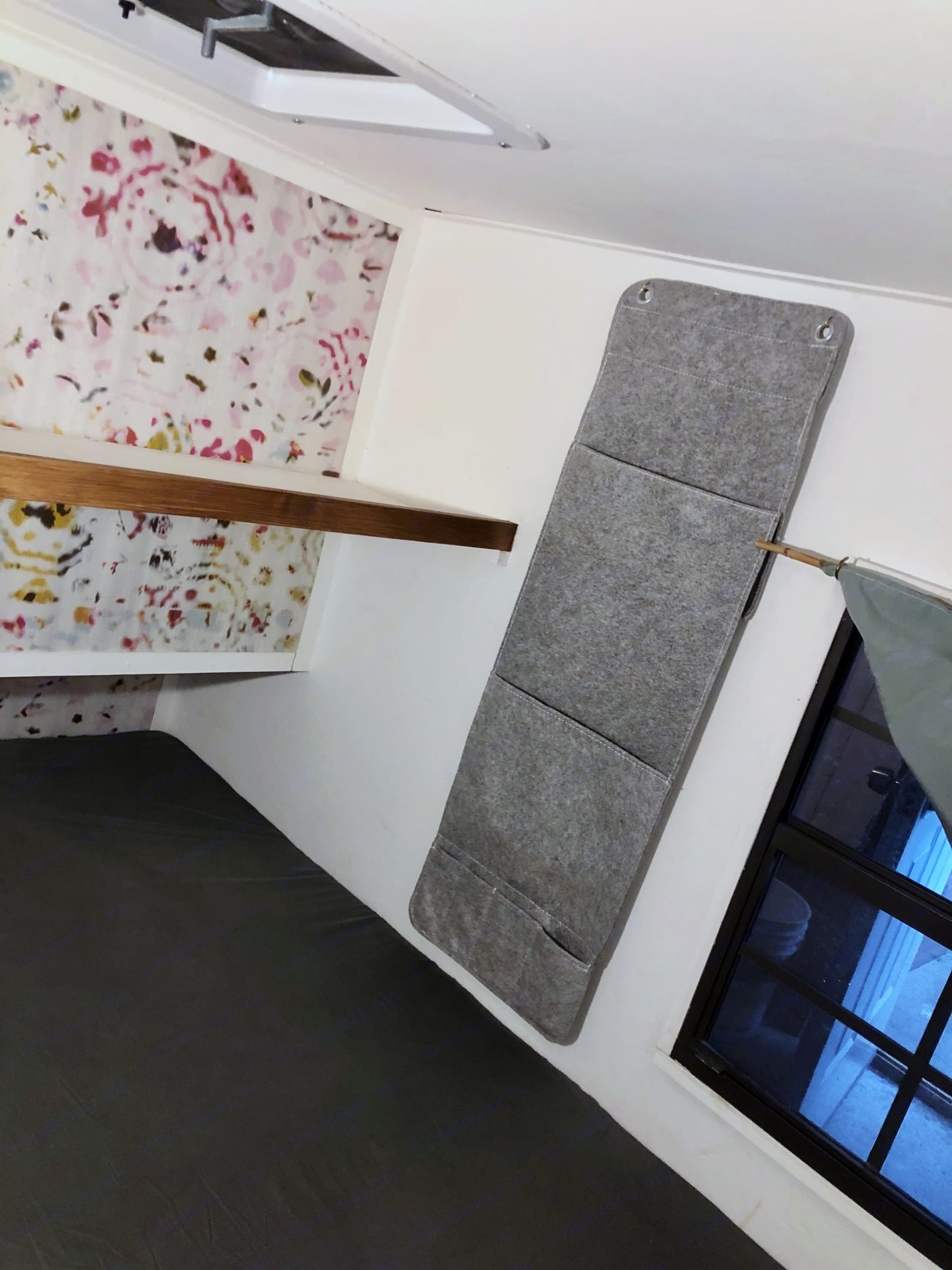 Shelf and pocket storage in the sleeping quarters.. Other Other 2019
