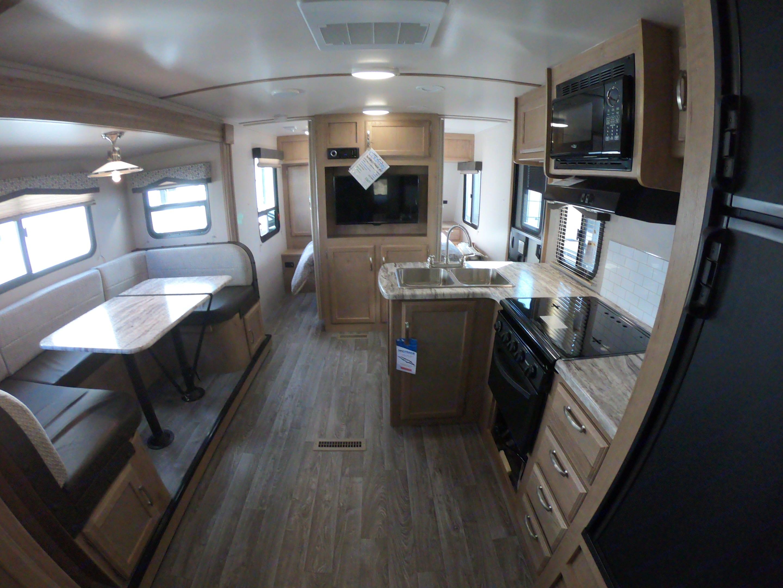 Living Area. Winnebago Micro Minnie 2455BH 2020
