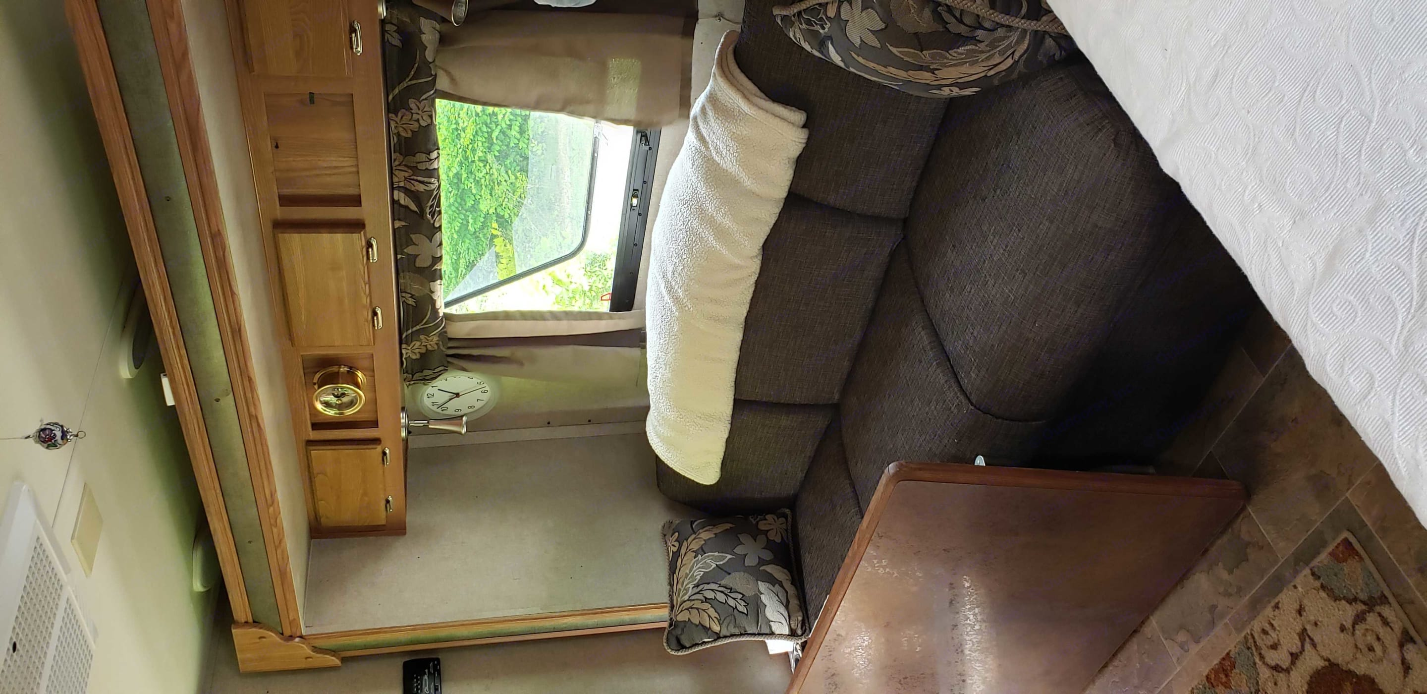 Bump out with sleeper couch. Forest River Rockwood Mini Lite 2015