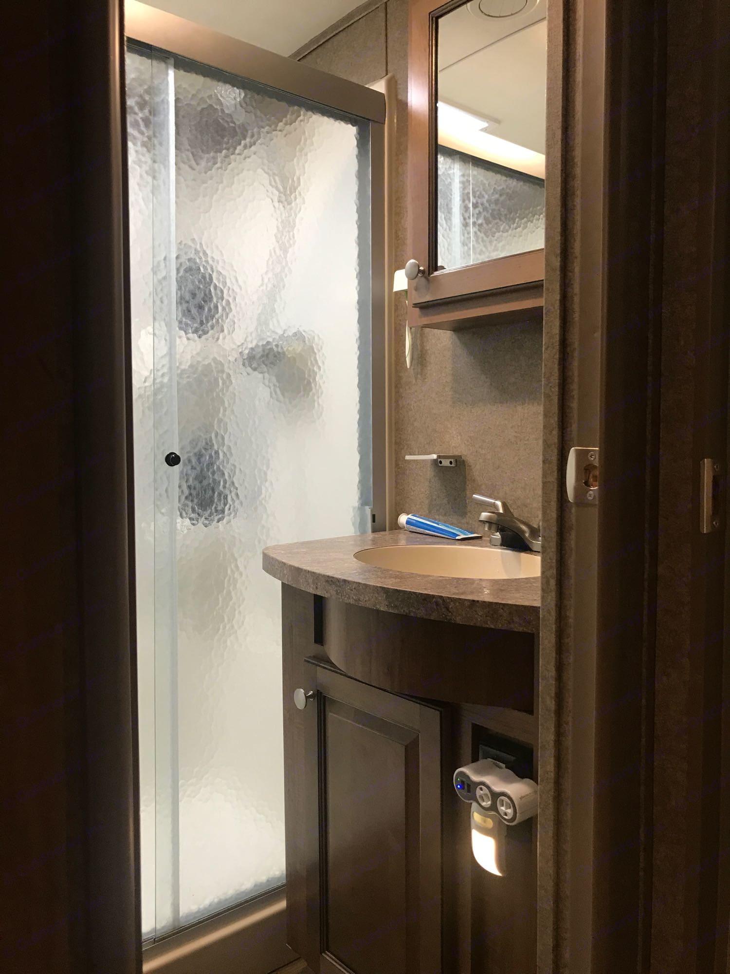 bathroom. ForestRiver Flagstaff8529RKBS 2019