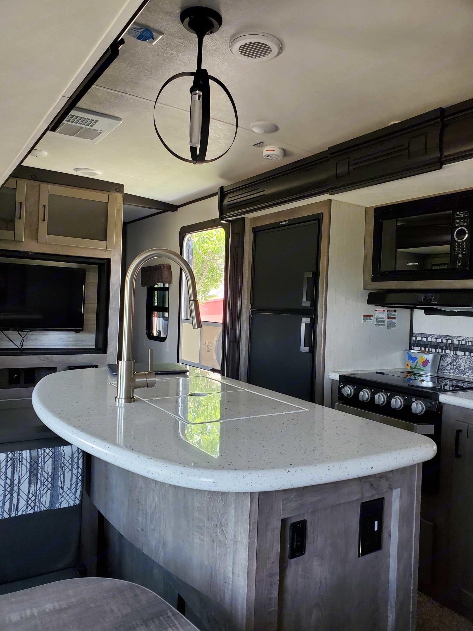Modern kitchen!. Heartland North Trail 2020