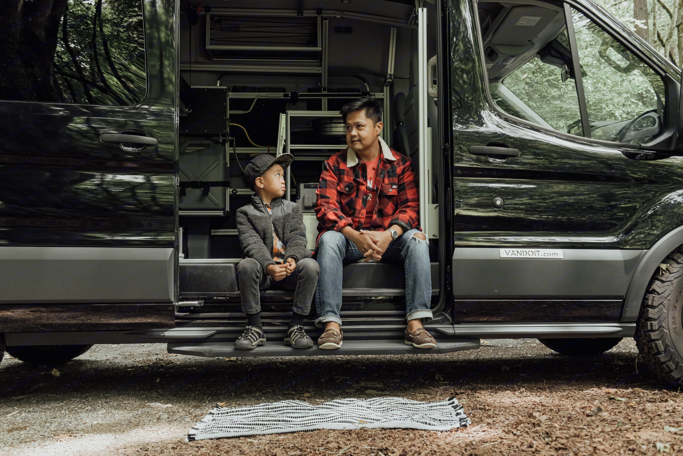Rugged Ford Transit van ready for your next adventure.. Ford Transit 2017