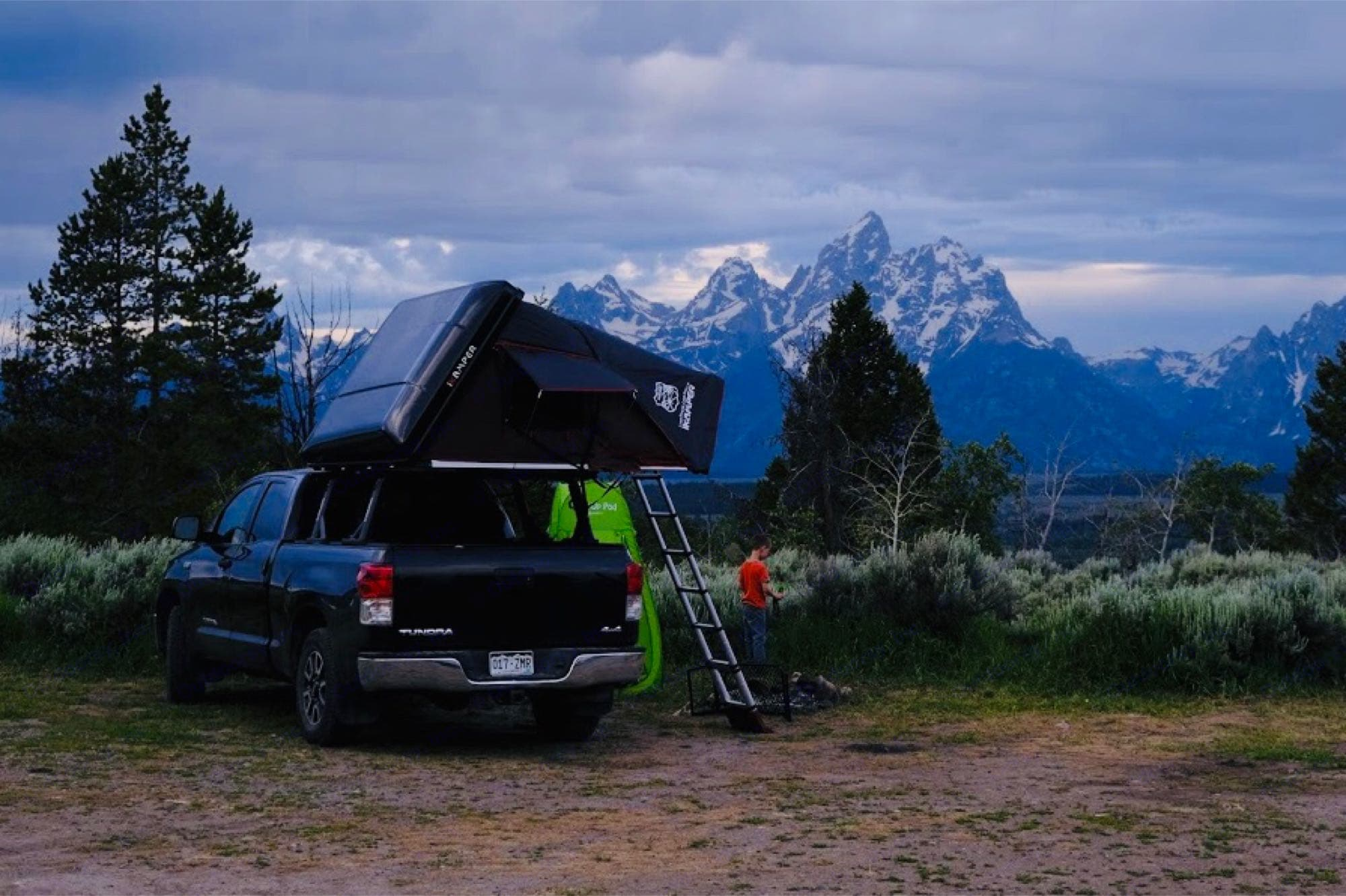 Remote locations.. Toyota Tundra 2013