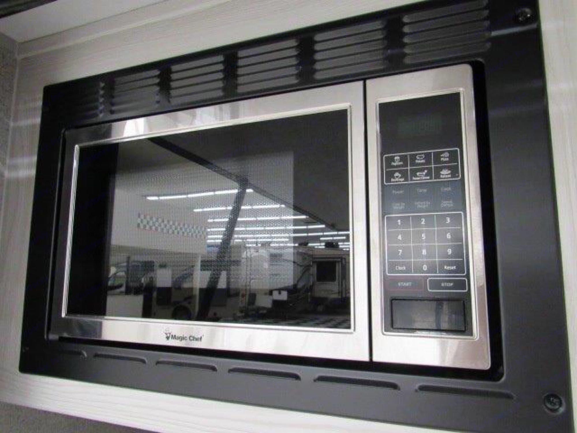 Microwave110AC. ForestRiver RockwoodGeoPro12RK 2020