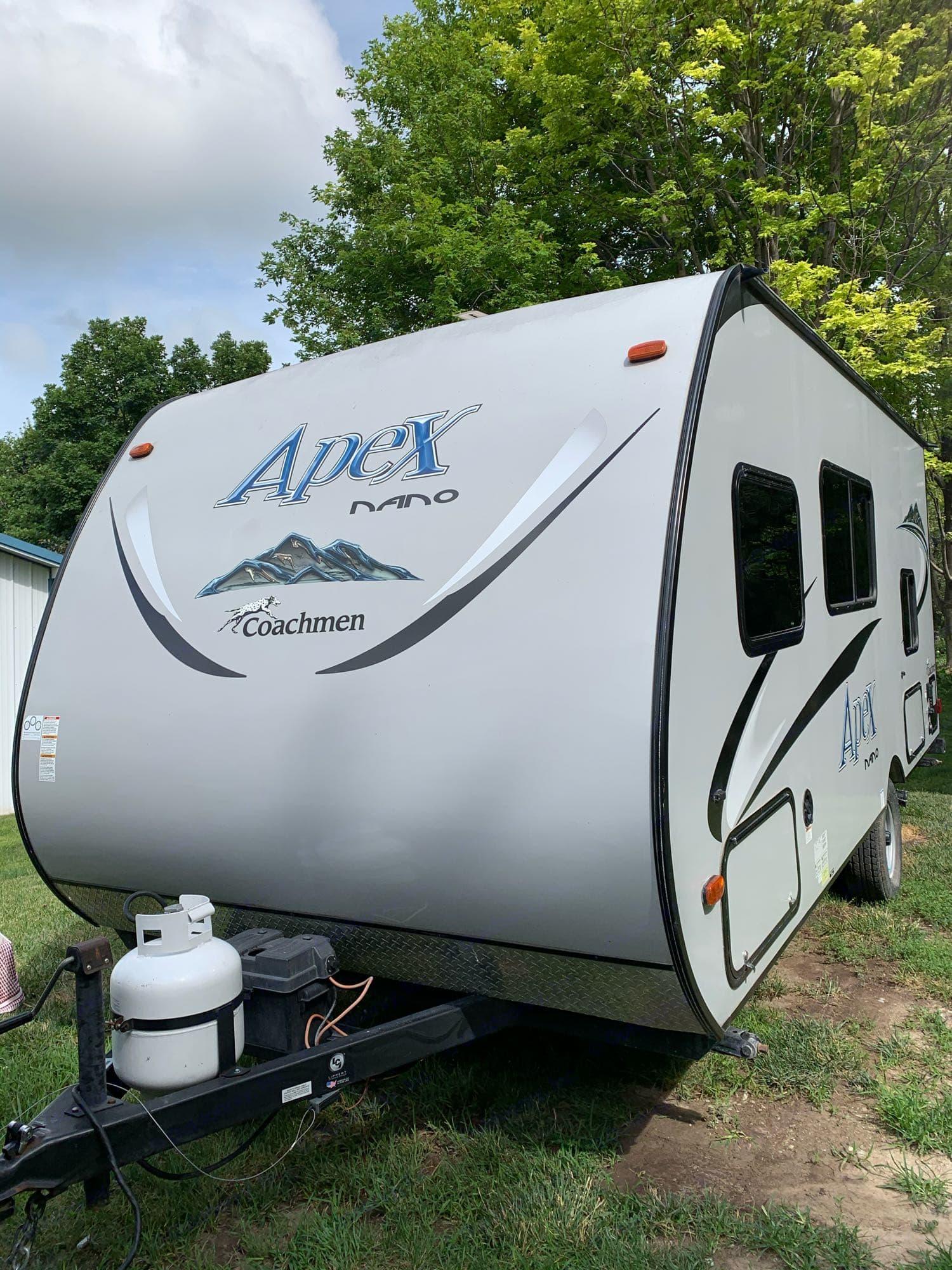 Apex Nano by Coachman BH 185 20 ft Camping Trailer. Coachmen Apex 2016