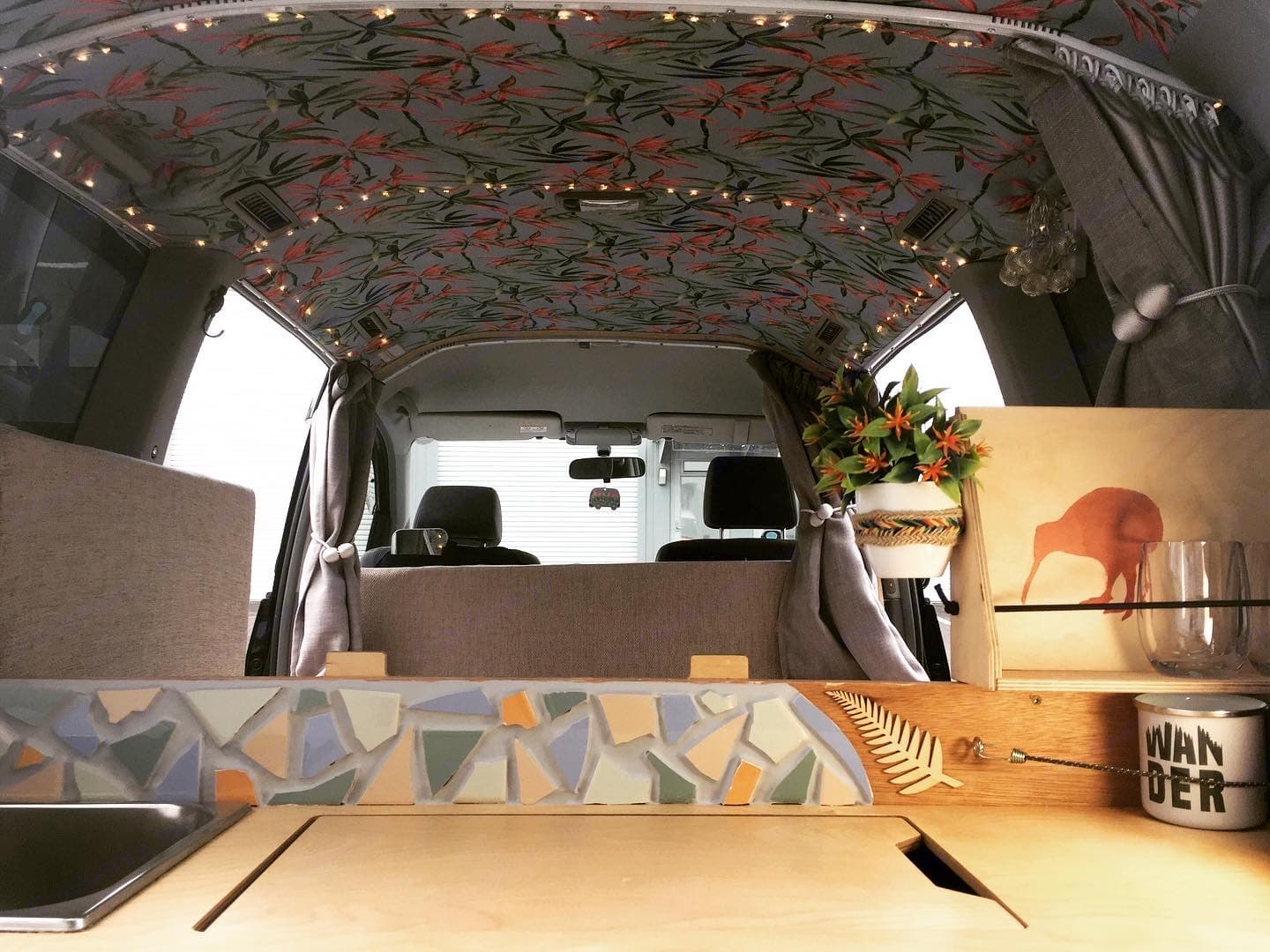 Mojo Campers Sleepervans are comfortable and functional. We made no compromise. A comfy place to stay that won't make you feel homesick — it is home!. Toyota Voxy 2007